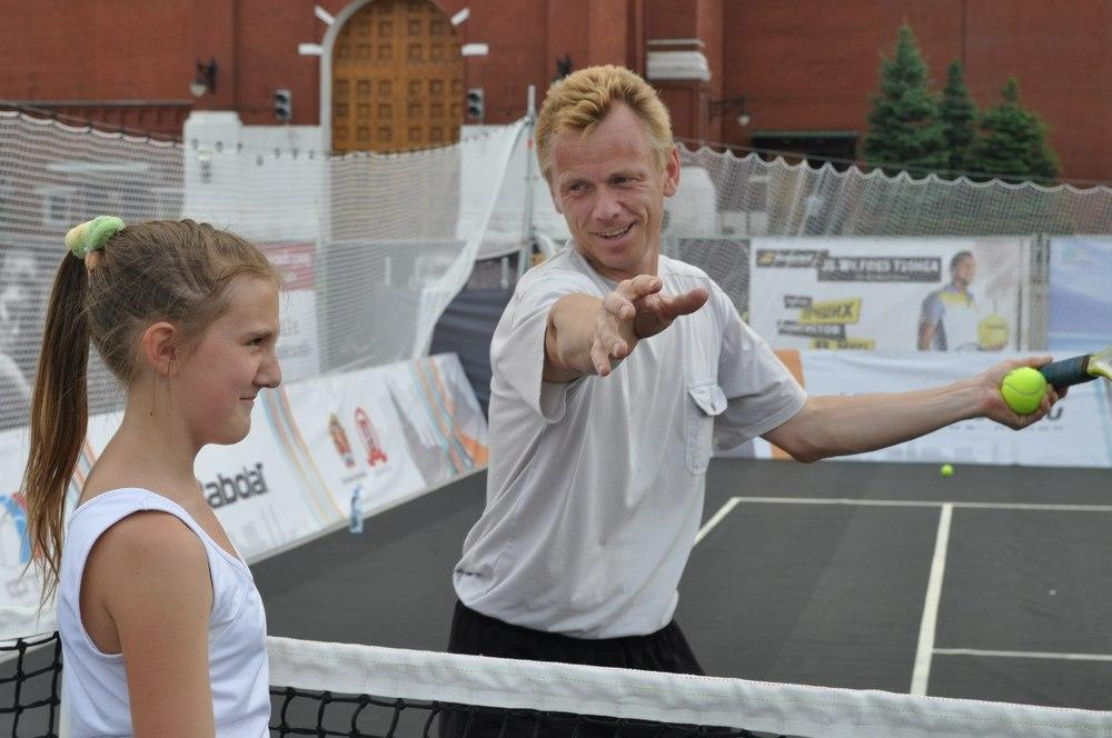 Спортивные секции по большому теннису