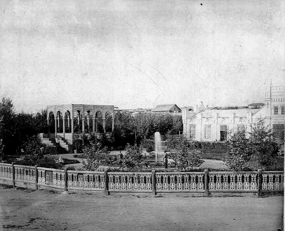 Сады второй половины XIX века