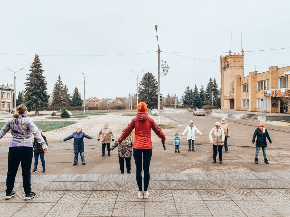 Повадинский СДК провел зажигательную «Вельяминовскую зарядку»