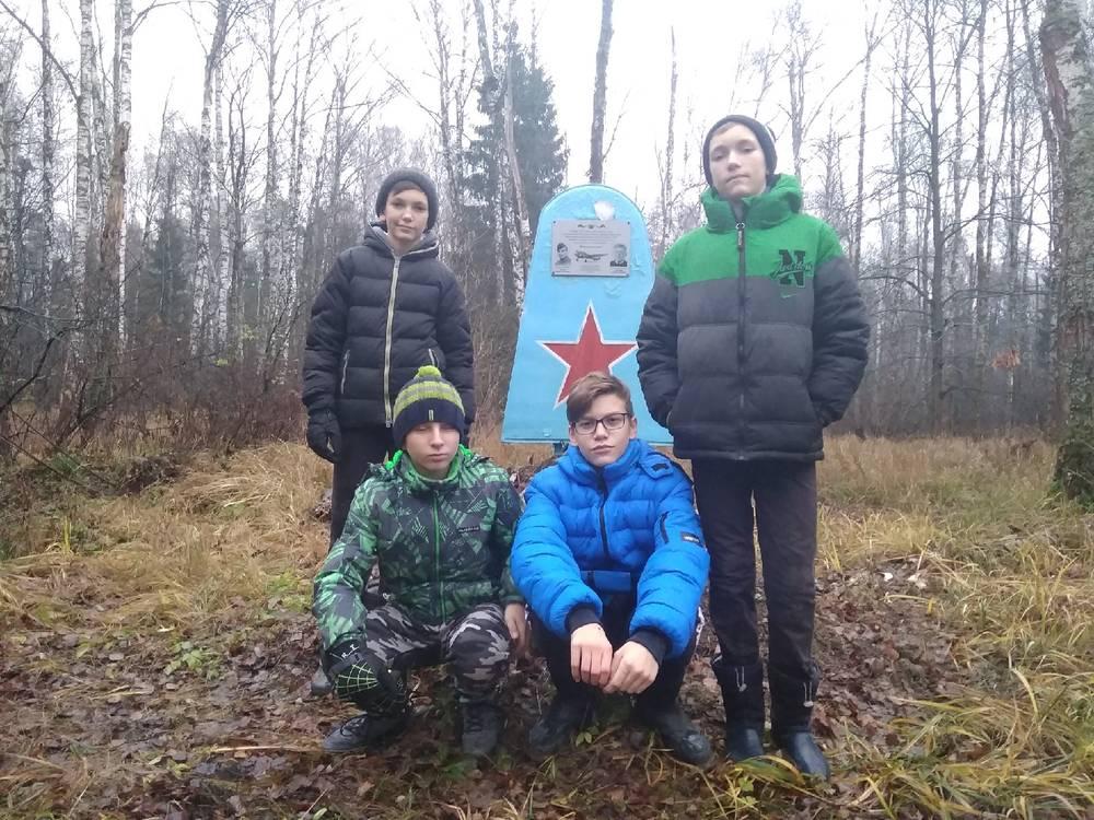 Поход в лесной массив у д. Семивраги