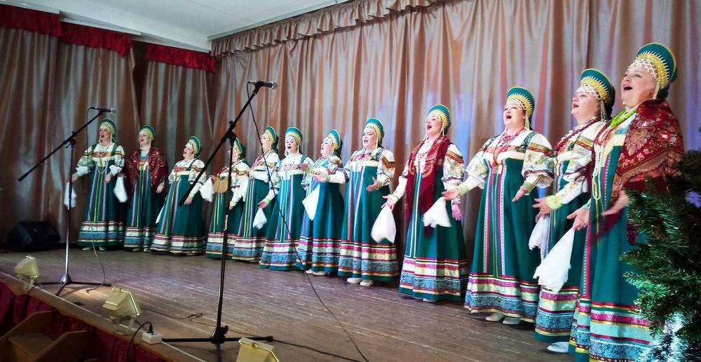 В концертном зале санатория «Зелёная роща» МВД России состоялся концерт творческих коллективов СДК «Заря»