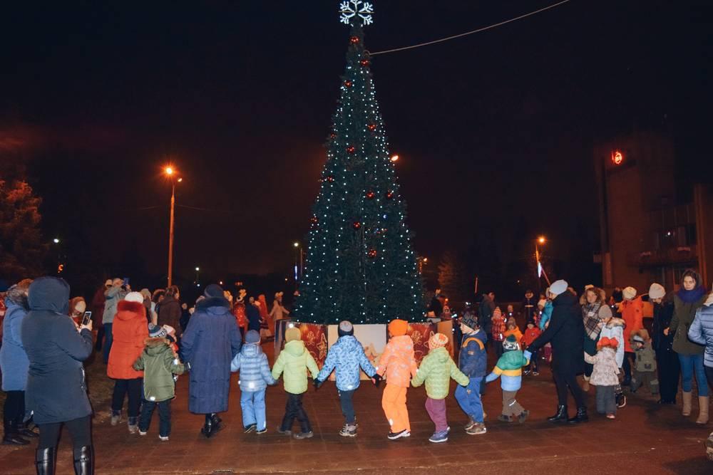 Открытие новогодней кампании «Зима в Подмосковье»